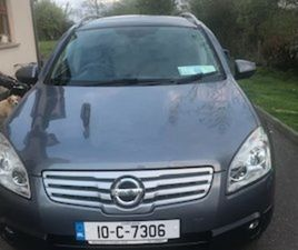 NISSAN QUASHQAI + 2 FOR SALE IN CORK FOR €5500 ON DONEDEAL