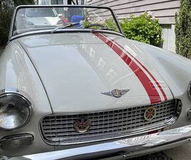 1961 AUSTIN-HEALEY SPRITE MK II CONVERTIBLE