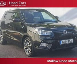 SSANGYONG TIVOLI 4X2 EL CROSSOVER 5DR FOR SALE IN CORK FOR €12,950 ON DONEDEAL