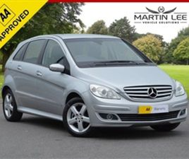 USED 2005 MERCEDES-BENZ B CLASS 1.7 B170 SE 5D 114 BHP MPV 77,150 MILES IN SILVER FOR SALE