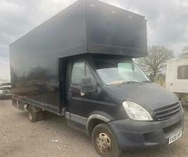 2009 IVECO DAILY 2.3 3750 DROP WELL BODY FURNITURE VAN FULL MOT LOVELY BDRIVE