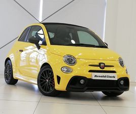 NEARLY NEW 2021 (21) ABARTH 595C 1.4 T-JET 180 COMPETIZIONE 2DR IN ABERDEEN
