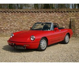 ALFA ROMEO SPIDER 2.0 VERY WELL MAINTAINED, GOOD CONDITION (1992)