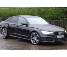 USED 2018 AUDI A6 SE EXECUTIVE TDI ULTRA SALOON 74,000 MILES IN BLACK FOR SALE | CARSITE