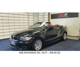 BMW BAUREIHE 1 CABRIO 118I,NAVI,99TKM
