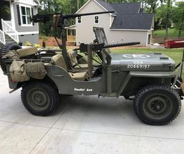 FOR SALE: 1945 JEEP WILLYS IN ANDERSON, SOUTH CAROLINA