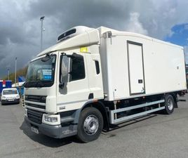 2013 DAF CF 75 250 SWB 22FT FRIDGE WITH LIFT FOR SALE IN ARMAGH FOR €1 ON DONEDEAL