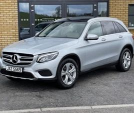 USED 2016 MERCEDES-BENZ GLC 220 D 4MATIC SPORT PR NOT SPECIFIED 93,000 MILES IN SILVER FOR