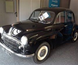 USED 1953 MORRIS MINOR SERIES 2 SALOON 38,000 MILES IN BLACK FOR SALE | CARSITE