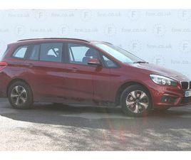 2017 BMW 2 SERIES 1.5 218I SE GRAN TOURER 5D AUTO - £15,299