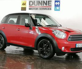 COOPER D, AA APPROVED, RACING RED WITH A BLACK ROOF, UPGRADED BLACK ALLOYS, NEW NCT, TAX 0
