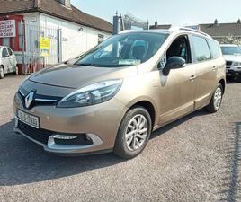 RENAULT GRAND SCENIC, 2015 7 SEATER AUTOMATIC FOR SALE IN CORK FOR €11,950 ON DONEDEAL