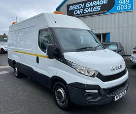 2015 IVECO DAILY S CLASS 2.3TD 35S11V 3520 H2 PANEL - £9,990 +VAT