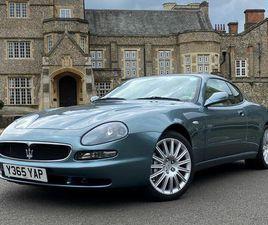 2001 MASERATI 3200 3.2 GT - £21,995