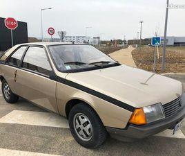 RENAULT FUEGO 1.4 GTL - 44 744 KMS - ANNÉE 01/01/1980