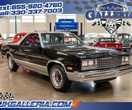FOR SALE: 1987 CHEVROLET EL CAMINO IN SALEM, OHIO
