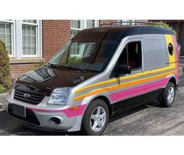 2012 FORD CUSTOM TRANSIT VAN