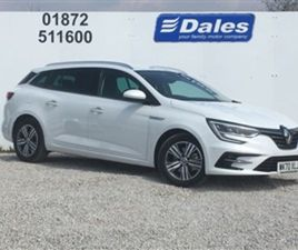 USED 2021 RENAULT MEGANE 1.6 E-TECH PHEV 160 ICONIC 5DR AUTO ESTATE 2,500 MILES IN WHITE F
