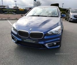 USED 2018 BMW 2 SERIES ACTIVE TOURER 220D XDRIVE LUXURY HATCHBACK 29,000 MILES IN BLUE FOR