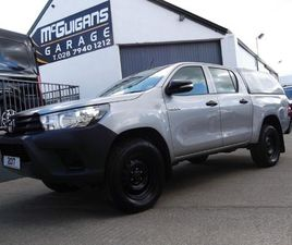 TOYOTA HILUX ACTIVE D/CAB PICK UP 2.4 D-4D , CANOPY AND LOAD LINER