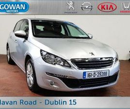 PEUGEOT 308 ACTIVE 1.2 110 5DR BLUETOOTH AIRCON FOR SALE IN DUBLIN FOR €12,950 ON DONEDEAL