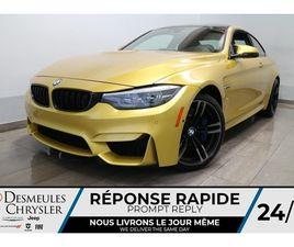 BMW M4 COUPE IM MANUELLE * NAV * CAMERA DE RECUL * C 2018
