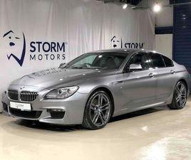 BMW 6 SERIES GRAN COUPE 640D M SPORT **HARMAN KARDON, HEADS-UP DISPLAY** 3.0 4DR SALOON AU