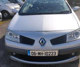 06 RENAULT MEGANE CONVERTABLE LOW MLS NCT FOR SALE IN WEXFORD FOR €1800 ON DONEDEAL