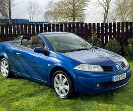 RENAULT MEGANE CABRIO 1.6 LA CREM LOW KM FOR SALE IN DUBLIN FOR €2,900 ON DONEDEAL