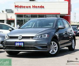 2019 VOLKSWAGEN GOLF 1.4 TSI COMFORTLINE CLEAN CARFAX ONE OWN... | CARS & TRUCKS | CITY OF
