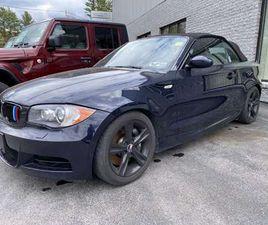 BLUE COLOR 2009 BMW 1 SERIES 135I FOR SALE IN ELIZABETHTOWN, NY 12932. VIN IS WBAUN93579VK
