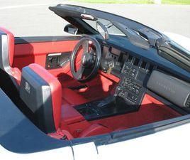 REDUCED 1987 CORVETTE CONVERTIBLE LIKE NEW | CLASSIC CARS | CORNWALL | KIJIJI