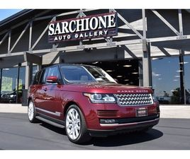 2017 LAND ROVER RANGE ROVER SUPERCHARGED 5.0L V8 SUPERCHARGED