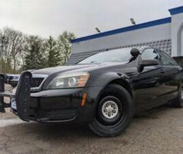2012 CHEVROLET CAPRICE POLICE 6.0L V-8