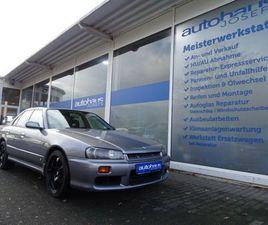 NISSAN SKYLINE GT R34 RB25 RHD AUTOMATIK KLIMA 18`ALU