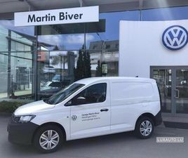 VW CADDY CARGO BLANC D'OCCASION, MOTEUR DIESEL ET BOITE MANUELLE, 4.000 KM - 17.945 € | LU