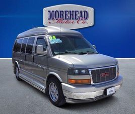GRAY COLOR 2004 GMC SAVANA 1500 UPFITTER FOR SALE IN MOREHEAD CITY, NC 28557. VIN IS 1GDFH