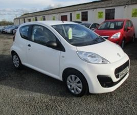 USED 2012 PEUGEOT 107 ACCESS 1.0 ** FREE TAX ** HATCHBACK 54,000 MILES IN WHITE FOR SALE |