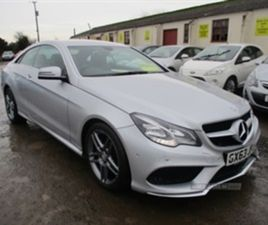 USED 2013 MERCEDES-BENZ E CLASS 250 CDI AMG SPORTS COUPE COUPE 109,000 MILES IN SILVER FOR