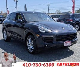 BLUE COLOR 2018 PORSCHE CAYENNE BASE FOR SALE IN PASADENA, MD 21122. VIN IS WP1AA2A22JKA05