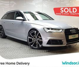 AUDI A6 AVANT S LINE BLACK EDITION ULTRA TDI 190 FOR SALE IN DUBLIN FOR €28,995 ON DONEDEA