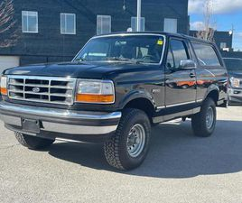 USED 1993 FORD BRONCO XLT AUTO|5.0L V8|