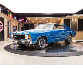 FOR SALE: 1972 CHEVROLET CHEVELLE IN PLYMOUTH, MICHIGAN