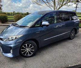 TOYOTA ESTIMA HYBRID 7 SEATER FOR SALE IN MEATH FOR €24,950 ON DONEDEAL