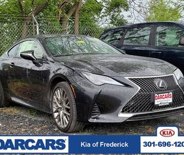 BLACK COLOR 2019 LEXUS RC 300 FOR SALE IN FREDERICK, MD 21704. VIN IS JTHS85BC5K5004846. M
