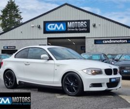 USED 2013 BMW 1 SERIES M SPORT COUPE 57,997 MILES IN WHITE FOR SALE | CARSITE