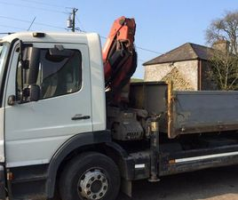 05 MERCEDES ATEGO 1315 TIPPER WITH HIAB FOR SALE IN MEATH FOR €10,000 ON DONEDEAL