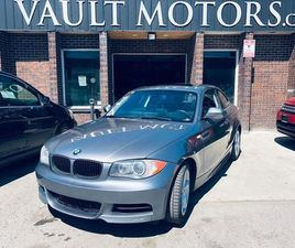 USED 2010 BMW 1 SERIES 2DR CPE 128I, LEATHER