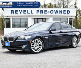 2011 BMW 550I XDRIVE 550I XDRIVE   4.4 TWIN TURBO   MOONROOF   LEATHER   CARS & TRUCKS   K