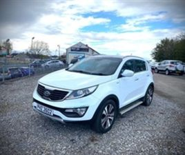 USED 2012 KIA SPORTAGE KX-3 CRDI NOT SPECIFIED 96,000 MILES IN WHITE FOR SALE | CARSITE